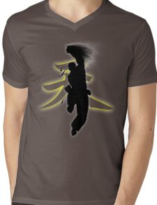 Punching the Dragon Mens V-Neck T-Shirt