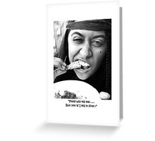 The Munchies Greeting Card