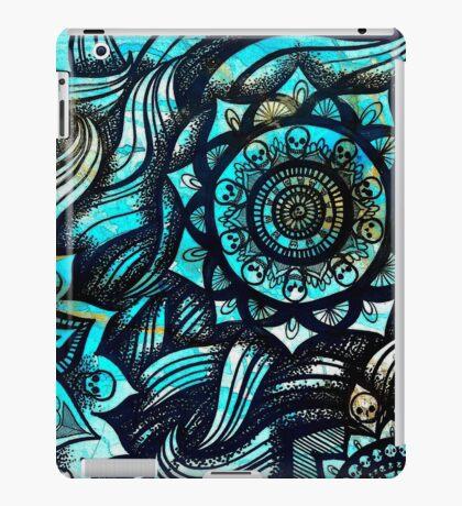 SKULL MANDALAS - BLACK iPad Case/Skin