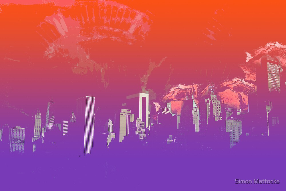 New York Roses by Simon  Mattocks