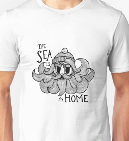 The Sea is my Home Unisex T-Shirt