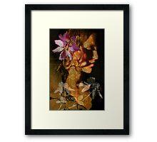 Flower in my head Framed Print