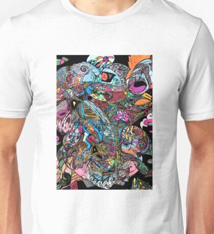 Optimistic Cataclysm by Lakey Unisex T-Shirt