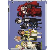 Black Butler Cast iPad Case/Skin
