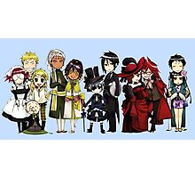 Black Butler Cast Photographic Print