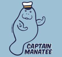 Captain Manatee One Piece - Short Sleeve