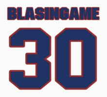 National baseball player Wade Blasingame jersey 30 by imsport