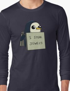 Adventure Time Gunter Long Sleeve T-Shirt