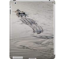 Yellow Water Crocodile iPad Case/Skin