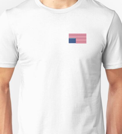 America in trouble upside down flag Unisex T-Shirt