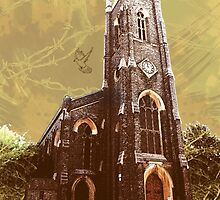 St Nicholas Church, Tooting, SW17, London by Ludwig Wagner