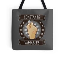 Constants & Variables Tote Bag