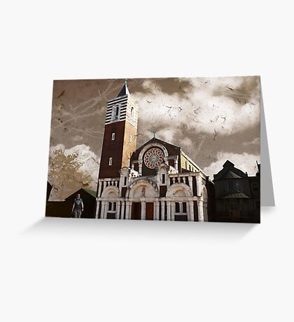 St Boniface Church, Tooting, SW17, London Greeting Card