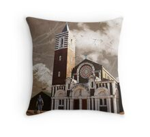 St Boniface Church, Tooting, SW17, London Throw Pillow