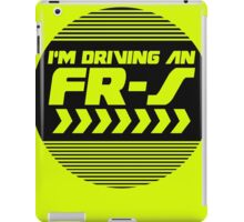I'm driving an FR-S iPad Case/Skin