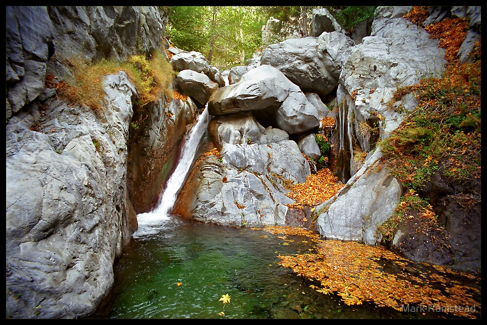 Upper Cucamonga Falls by Mark Ramstead