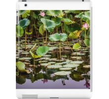 Water Lilies Yellow Water iPad Case/Skin