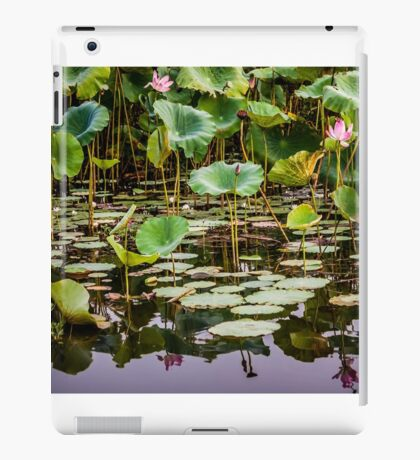 Water Lilies Yellow Water iPad Case/Skin
