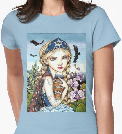 Aquarius Womens Fitted T-Shirt