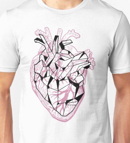 Geometric heart Unisex T-Shirt