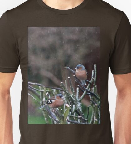 Caught in a spring shower Unisex T-Shirt