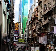 Central Streets II - Hong Kong. by Tiffany Lenoir