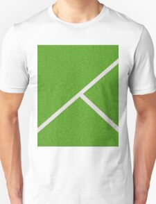 Top view of soccer field T-Shirt