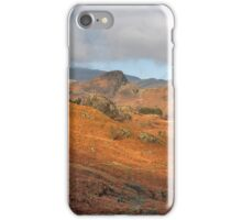 Langdale Fells  iPhone Case/Skin