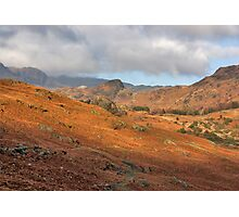 Langdale Fells  Photographic Print