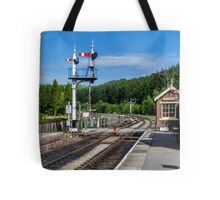 Levisham Station Tote Bag