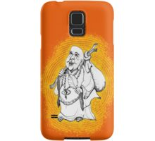 Buddha On His Way  Samsung Galaxy Case/Skin