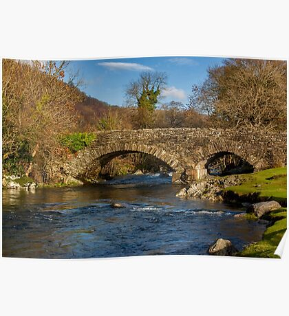 Packhorse Bridge River Duddon Poster