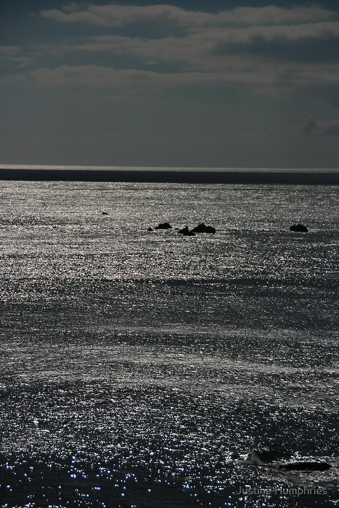 Shimmering seas by Justine Humphries