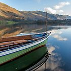 Sailing on Ullswater by Trevor Kersley