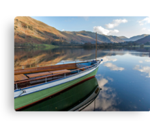 Sailing on Ullswater Canvas Print