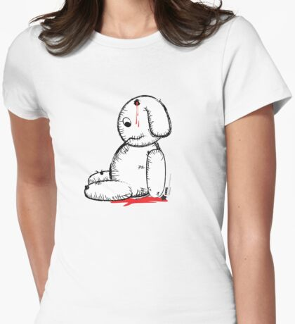 dead teddy Womens Fitted T-Shirt