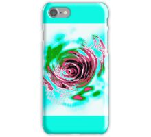 The Paper Trips Trippy Rose iPhone Case/Skin