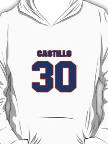 National baseball player Alberto Castillo jersey 30 T-Shirt