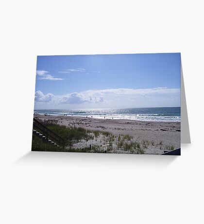 Splendid View on a Summer Day Greeting Card