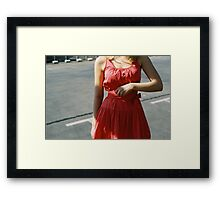 Pink Femininity 1 Framed Print