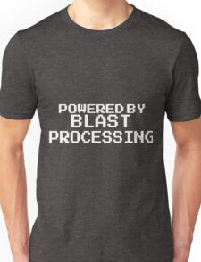 Powered by Blast Processing Unisex T-Shirt