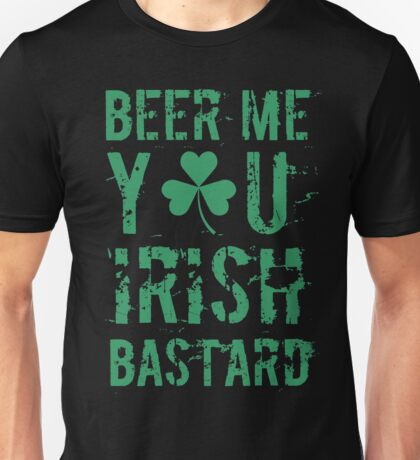 Saint St Patricks Day Irish Drink Beer Happy Drunk Unisex T-Shirt