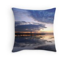 Long Jetty Throw Pillow