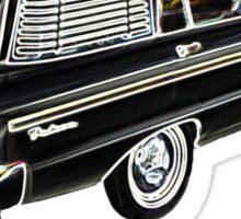 Old wagons never die (XM in neon) Sticker