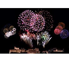 Edinburgh's Celebrations 2007 Photographic Print