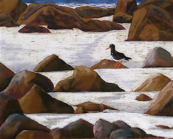 Bird on the Shore by Susie a'Beckett