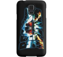 Back to the Future-Time travel Samsung Galaxy Case/Skin