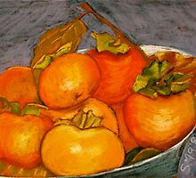 persimmons by Susie a'Beckett