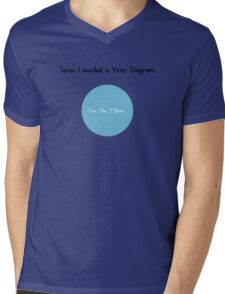 Times I Needed a Venn Diagram Mens V-Neck T-Shirt