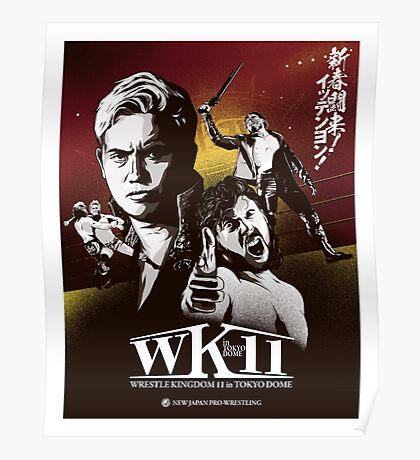 WRESTLE KINGDOM 11 in TOKYO DOME Poster